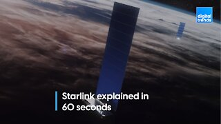Starlink: Explained in 60 seconds