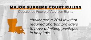 SCOTUS strikes down Louisiana abortion law