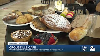Croustille Café, authentic French cafe serving up fresh baked pastries, bread
