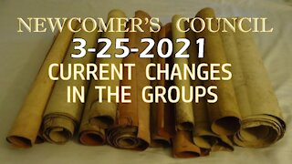 3-25-2021 Current Group Changes