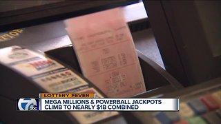 Mega Millions, Powerball combined jackpots worth nearly $1 billion