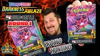 Darkness Ablaze Build & Battle (Round 1) | Charizard Hunting | Promo Hunting | Pokemon Cards Opening