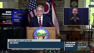 Ohio Gov. Mike DeWine announces Ohio BWC dividend for employers