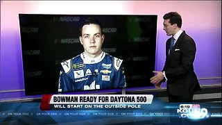 Alex Bowman to start 2nd in Daytona 500