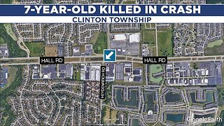 Dad arrested after 7-year-old killed in crash in Clinton Township