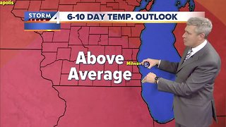 Mostly cloudy, temps in the 40s Wednesday