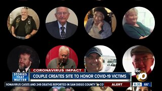 Couple creates website to honor COVID-19 victims