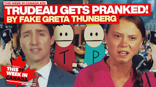 Justin Trudeau gets pranked! - This Week in Canada Episode 26