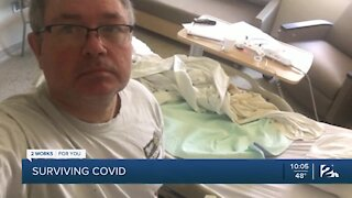 Recovered COVID-19 patient changes mind about mask-wearing