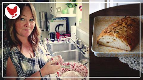 Making Bread By Hand - Swiss Onion Bread | A Good Life Farm