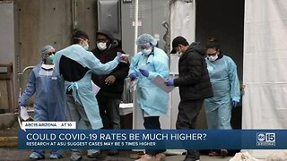 Could COVID-19 rates be much higher?