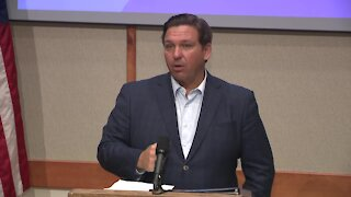 Gov. DeSantis speaks on the COVID vaccine in Florida