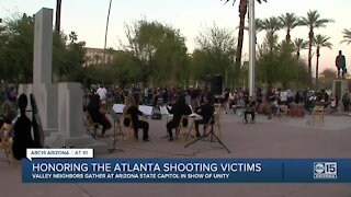Honoring the Atlanta shooting victims in Arizona