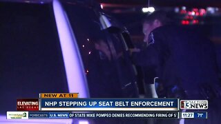 Nevada Highway Patrol stepping up seat belt enforcement