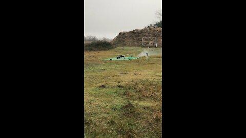 Suppressed 50BMG TEST FIRE