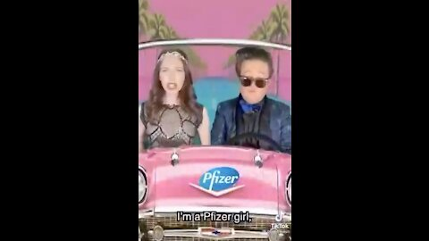 """Pfizer girl"" ad"