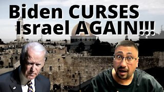 PRESIDENT BIDEN'S stand AGAINST ISRAEL will ACCELERATE JUDGEMENT against the US!!!