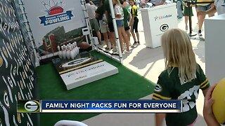 Family Night packs fun for everyone in Green Bay