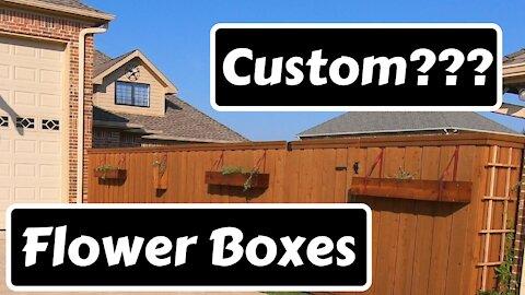 Custom Flower Boxes