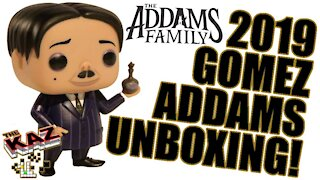 Gomez Addams 2019 CG Movie Funko Pop Unboxing