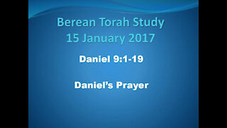 Daniel 9 Daniel's prayer examined