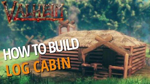 Classic Log Cabin - Valheim