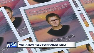 Visitation held Saturday for 14-year-old Harley Dilly