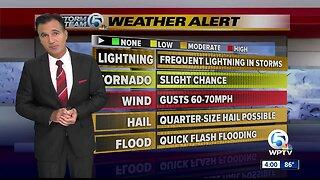 LIVE: Severe thunderstorm watch until 10 p.m.