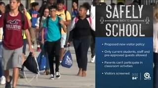 Palm Beach County school board to vote on campus visitor policy