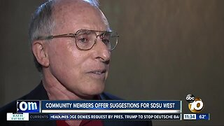 Community members offer suggestions for SDSU West