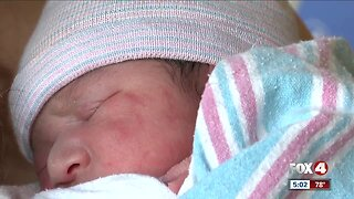Lee County's first baby of the new year
