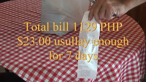 Supermarket grocery cost with prices butuan city Philippines