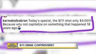 Akron bar facing backlash after promoting 9/11 drink special