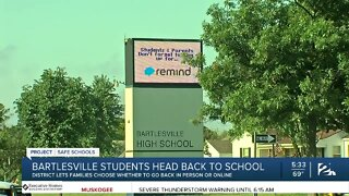 Bartlesville Students, Heading Back To School In-Person