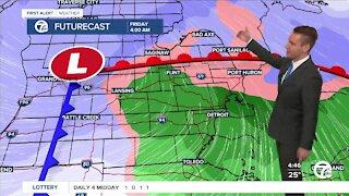 Metro Detroit Forecast: Next storm arrives Thursday
