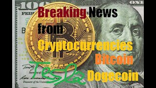 Breaking news from cryptocurrencies