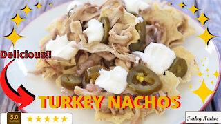 Turkey Nachos Recipe - Delicious!