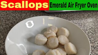 Scallops in the Air Fryer Oven from Frozen Recipe