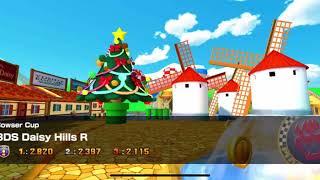 Mario Kart Tour - 3DS Daisy Hills R Gameplay (Winter Tour)
