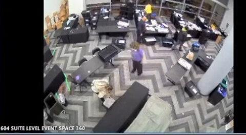Georgia Election Fraud Exposed - State Farm Arena Election Tabulation Center