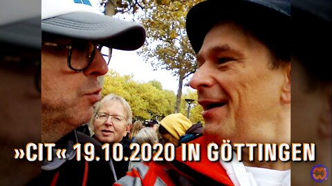 CORONA INFORMATIONS-TOUR (19.10.2020, Göttingen) [Erweiterte Version].