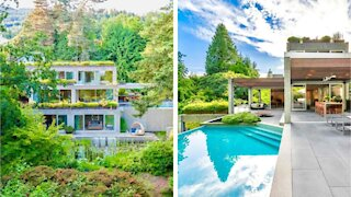 Here Is A Look Inside BC's Famous 'Eppich House' That's On The Market For $14 Million