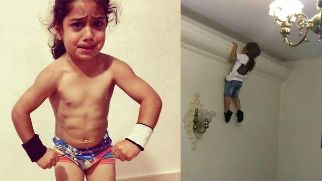 Treningsgal treåring drømmer om OL-deltakelse
