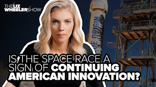 Is the space race a sign of continuing American innovation?