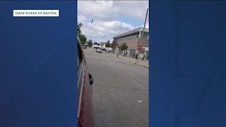 Driver almost hits pedestrians on sidewalks near Bradley Tech High: Milwaukee police