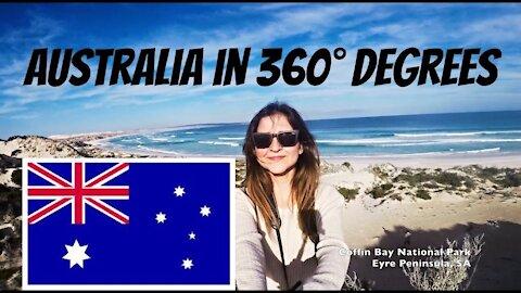 Epic GoPro Selfie Around Australia in 360 degrees