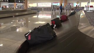 Airline tickets down, but fees are up
