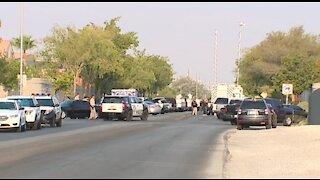 Las Vegas police investigate homicide scene near 215, North Decatur Boulevard