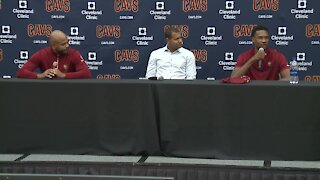 Cleveland Cavaliers introduce Evan Mobley