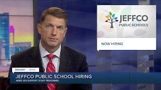 Jeffco Public Schools needs 300 support staff